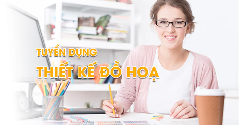 Tuyển dụng Graphics Web Designer